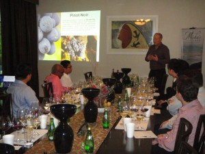 The Misha's Vineyard / Riedel Masterclass at The NZ High Commission in Kuala Lumpur