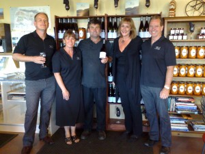 Misha's Vineyard & The Lazy Dog team