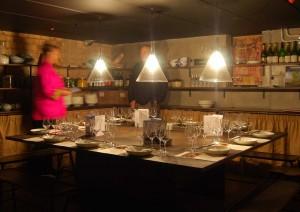 Our basement setting at Mandarin Dumpling