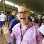 UK Master or Wine Tim Akin was very excited!