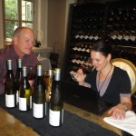 Lisa Perrotti-Brown MW tastes through the wines with Olly