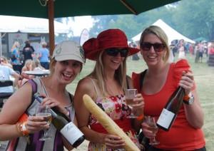 Some Misha's Vineyard wine fans ad South Island Wine & Food Festival